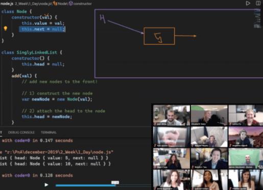 Coding Dojo Class Time